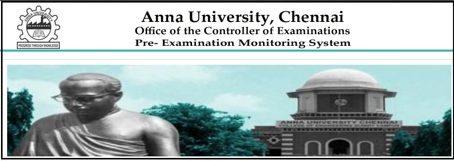 Anna University Results page